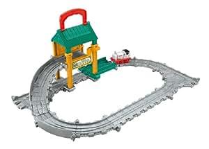 Thomas and Friends DC Engine - set de juego taller de reparación de coches