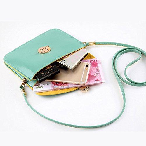 mall Gemini Messenger Bag Mini Handbag Fashion Crossbody Leather Satchel Tote Women Red PU Shoulder AgwdHq1w