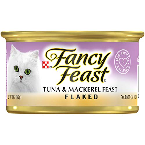 Flaked Tuna and Mackeral Wet Cat Food