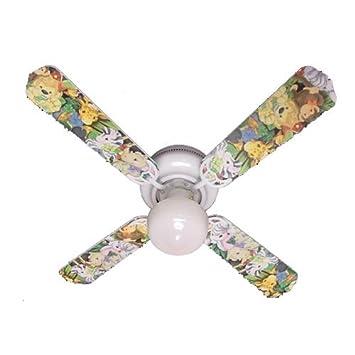 Amazon ceiling fan designers ceiling fan zootles baby animals ceiling fan designers ceiling fan zootles baby animals jungle 42quot mozeypictures Choice Image