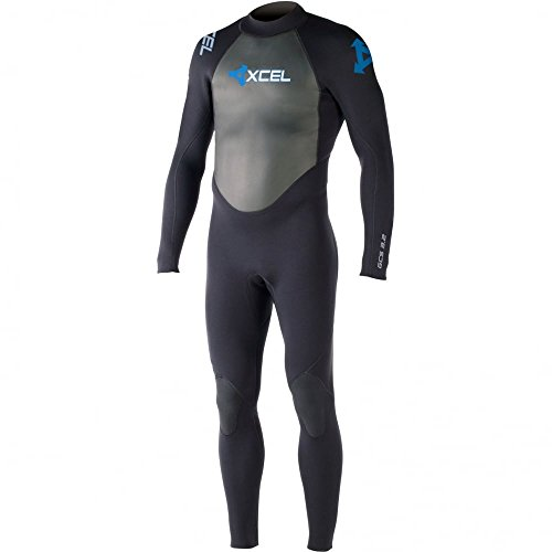 Xcel Mens Gcs 3 2Mm Full Length Wetsuit In Black Ls  Large Small