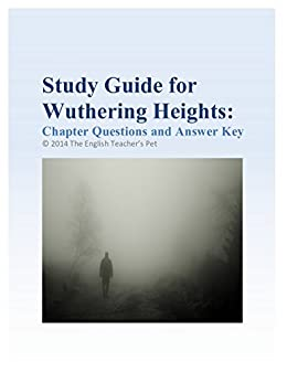 amazon com study guide of wuthering heights chapter questions and rh amazon com Respiratory System Worksheet Answer Key 9.3 Study Guide