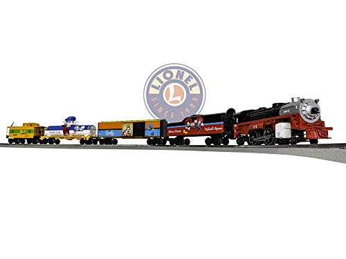 Lionel Disney Mickey & Friends Express Electric O Gauge Model Train Set w/ Remote and Bluetooth Capability