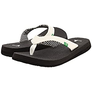 Sanuk – Womens Flip Flops – Yoga Mat