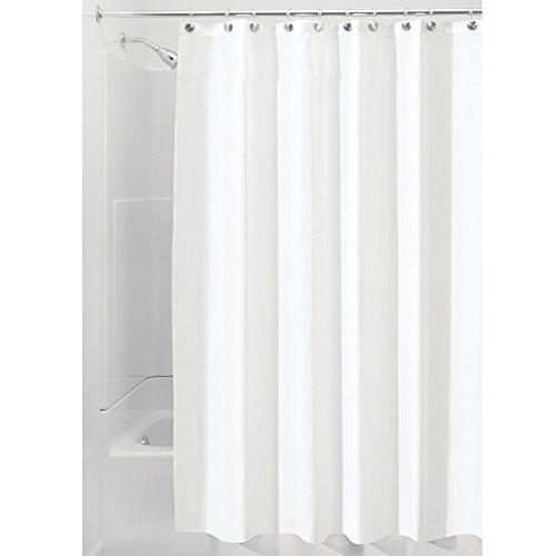 InterDesign Fabric Shower Curtain Repellent
