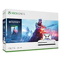 Join the ranks with Battlefield V on Xbox One S. Pre-order the Xbox One S Battlefield V Bundle and enter mankind's greatest conflict as Battlefield goes back to its roots: world war 2. Join the ranks with a full-game download of Battlefield V...
