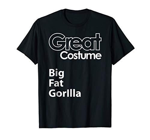Funny Halloween Big Fat Gorilla, Costume Ideas, DIY