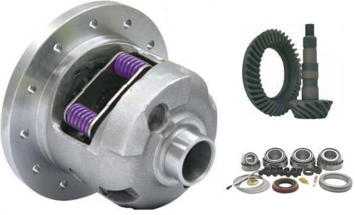 Premium Yukon DuraGrip Posi Package 10 Bolt GM 8.5 8.6 Gear Set Ring and Pinion 3.73 Ratio Master Bearing Kit 30 Spline 1999.5-2008