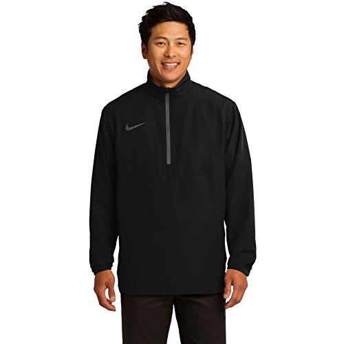 Nike HalfZip Mens Golf Wind Shirt 3XL Black-Dark Grey by NIKE