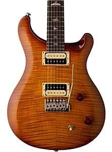 prs paul reed smith se custom 22 electric guitar with gig bag vintage sunburst. Black Bedroom Furniture Sets. Home Design Ideas