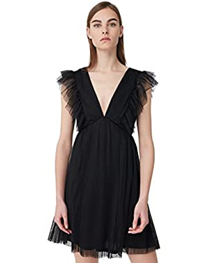 Mango Women's Tulle Dress
