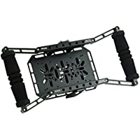 PROAIM Directors Monitor Cage (P-DMC) for 4 to 7 LCD Monitor Display | V- Mount Battery Plate | FREE Neck Strap | Pairs with Any Tripod / C-Stand