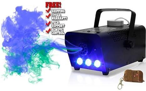 GBL® Máquina de Niebla, Máquina de Niebla 400W Máquina de Humo + Control Remoto Equipo Escénico para Bodas Teatro Fiestas Club DJ Efectos.