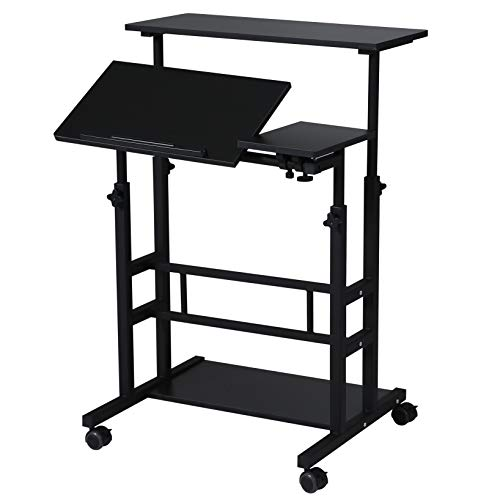 Mobile Desk Cart - 3