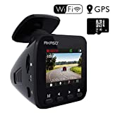Dash Cam Dashboard Recording Camera – AKASO V1 Car Recorder with Sony Sensor, 1296P FHD, GPS, G-Sensor, WiFi with Phone APP, Night Vision, Loop Record, Parking Monitor, 170°Wide Angle, with 16GB Card For Sale