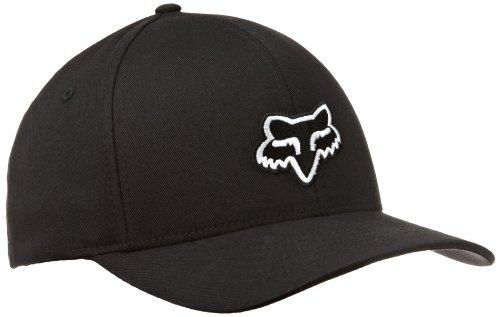 (Fox Men's Flex Fit Legacy Logo Hat, Black, Large/X-Large)
