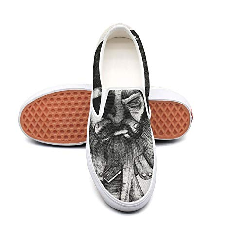 Unnnxsqqa Talk Like A Pirate Day Illegal Tender Rum Poster Fashion Casual Sneakers Slip ons Shoes