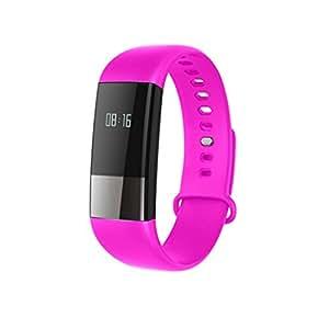 Dovewill Smart Bracelet M4 Wristband Fitness Tracker Blood Pressure Monitor Watch Purple