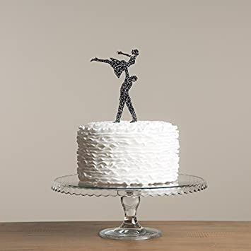 Avery Carey Dirty Dancing Inspired Party Cake Topper Wedding Cake