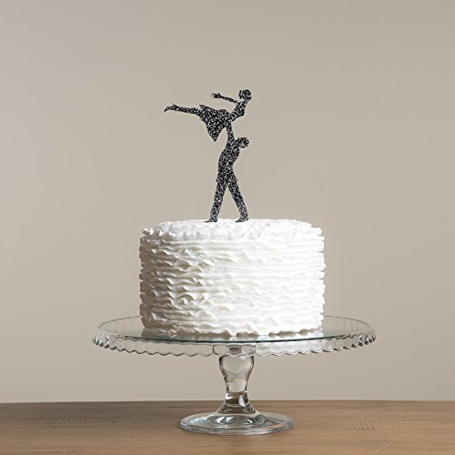 Dancing Silhouette - Avery Carey Dirty Dancing Inspired Party Cake Topper Wedding Cake Decoration Movie Themed Silhouette Cake Topper