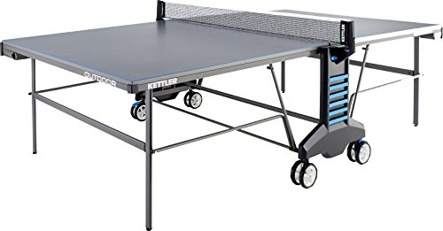 Treatment Element Table (Kettler Outdoor 4 Weatherproof Table Tennis Table, 2-Player Bundle With Cover)