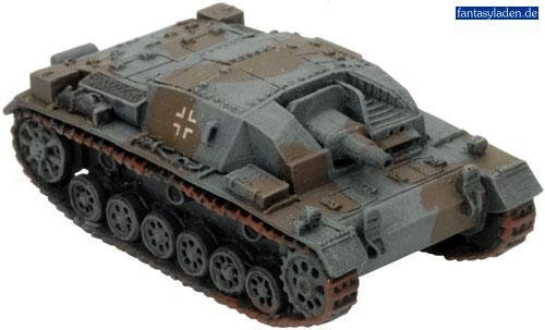 German: StuG IIIA by Battlefront Miniatures