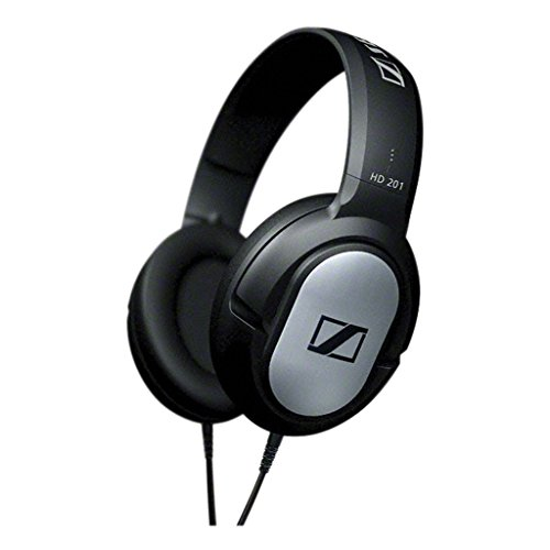 Over Sennheiser Earphones Head The - Sennheiser HD 201 Lightweight Over Ear Headphones