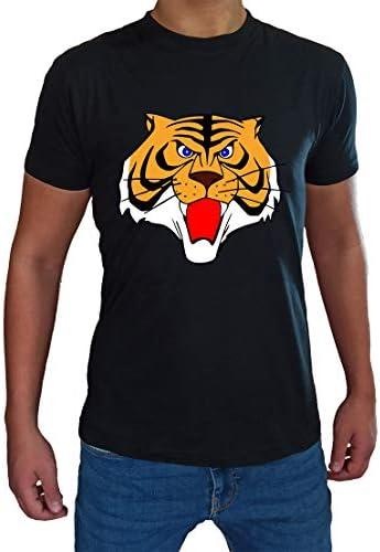 Generico T Shirt Tiger Man Uomo Bambino Anime Manga Giapponesi Maglietta Uomo Tigre Cartoni Animati Anni 80