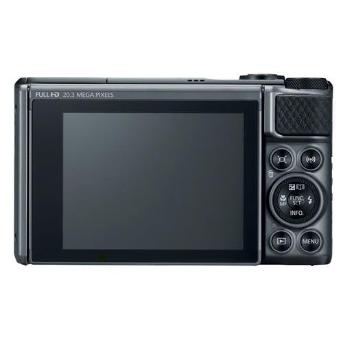 Canon PowerShot SX730 Digital Camera w/40x Optical Zoom & 3 Inch Tilt LCD - Wi-Fi, NFC, Bluetooth Enabled (Black)