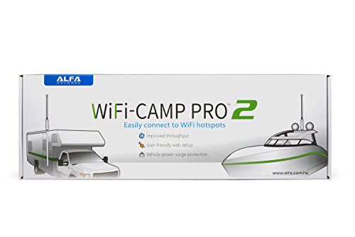 Alfa WiFi Camp Pro 2 long range WiFi repeater RV kit R36A/Tube-(U)N/AOA-2409-TF-Ant