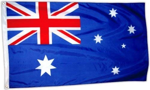 // Flagge // Drapeau About 150 cm by 90 cm // 5/' x 3/' Polyester for Celebrating Australian Heritage Australian Flag Souvenir // Speicher // Memoria //Souvenir // Bandiera // Bandera!