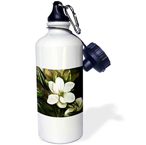 3dRose VintageChest - Flowers - Barbara Regina Dietzsch - Parrot Tulip - 21 oz Sports Water Bottle (wb_302618_1)