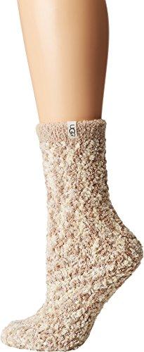 - UGG Women's Cozy Chenille Sock, cream O/S