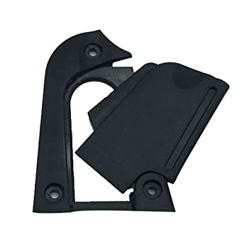 TOOGOO (R) accesorios para guitarra Head hoja de la cubierta guitarra eléctrica núcleo de hierro, separado bloque hoja: Amazon.es: Instrumentos musicales