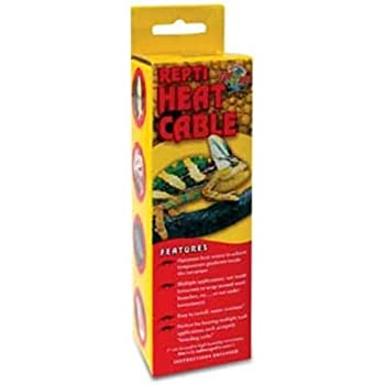 Amazon Com Zoo Med Reptile Heat Cable 25 Watts 14 75