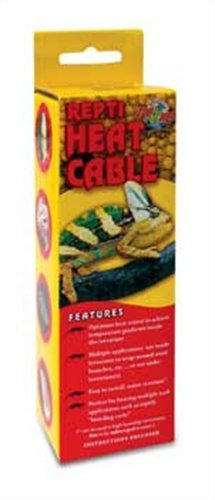 Heat Cable For Reptiles : Zoo med reptile heat cable watts feet import it all