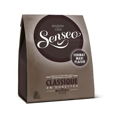 Maison Du Cafe (Senseo Coffee Pods (3 Packs of 36) 3x36=108 Pods - Maison Du Cafe (Classique (Classic)))