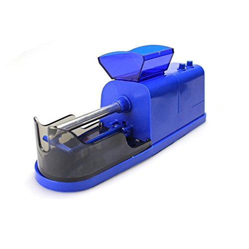 Cigarette Rolling Machine,DBHAWK Electric Automatic Cigarette Rolling Machine Tobacco Maker Roller With 5 speeds (Blue) by DBHAWK _Cigarette Rolling Machine