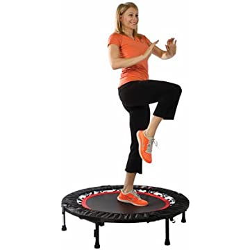 cheap Urban Rebounder Trampoline with Workout DVD & Stabilizing Bar 2020