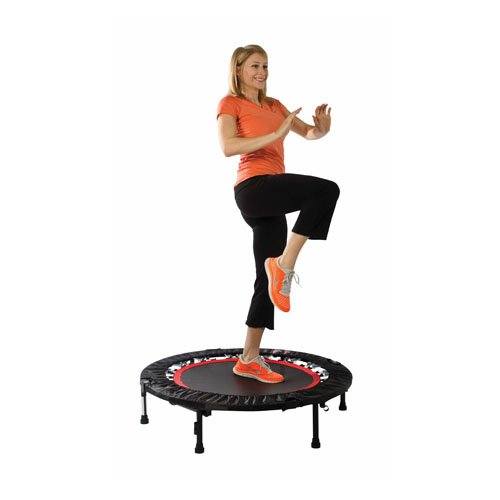 Urban Rebounder Trampoline with Workout DVD & Stabilizing Bar by Urban Rebounder