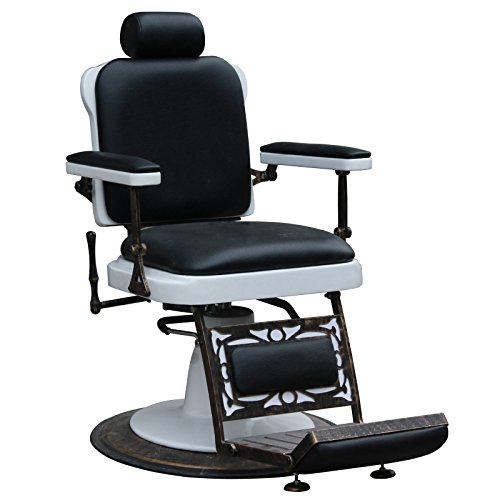 Jefferson  Vintage Reclining Hair Salon Barber Chairs