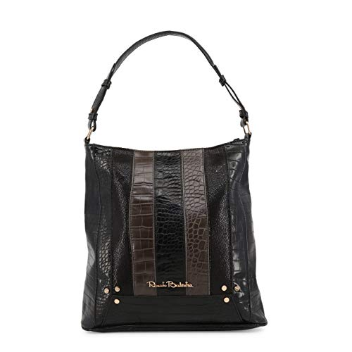 Black Genuine Designer Shoulder Rrp Bag Women Balestra Renato wPqXII