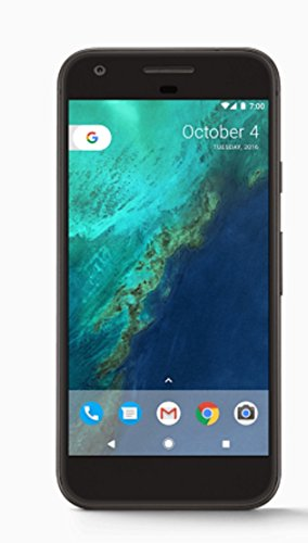 Google Pixel Phone 128 GB - 5 inch display ( Factory Unlocked US Version ) (Quite Black)