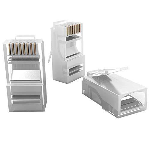 Conector Sohoplus, Dispositivos de Conexão em Rede, 500 plugs, Transparente