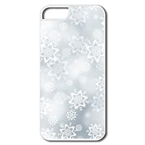 Custom Cases Vintage Snowflakes Texture For IPhone 5/5s