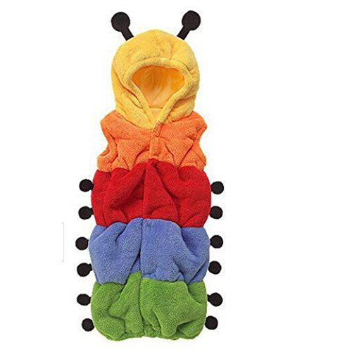 Baby Kids Cute Caterpillar Sleeping Bag Romper Sleepwear Swaddle Wrap Sack (Dog Costumes Halloween Canada)