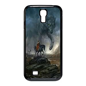 JamesBagg Phone case Wolf love noon,wolf pattern For SamSung Galaxy S4 Case FHYY452860