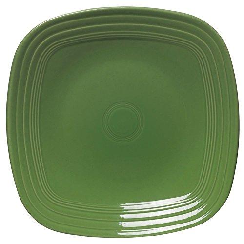 "Homer Laughlin Fiesta Shamrock China Plate - 7 1/2"" Sq"