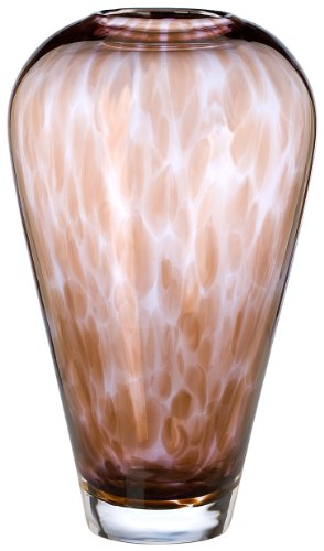 Evolution by Waterford Urban Safari 8-Inch Spotted Vase
