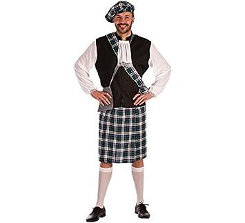 Disfraz de Escocés azul para hombre: Amazon.es: Ropa y ...